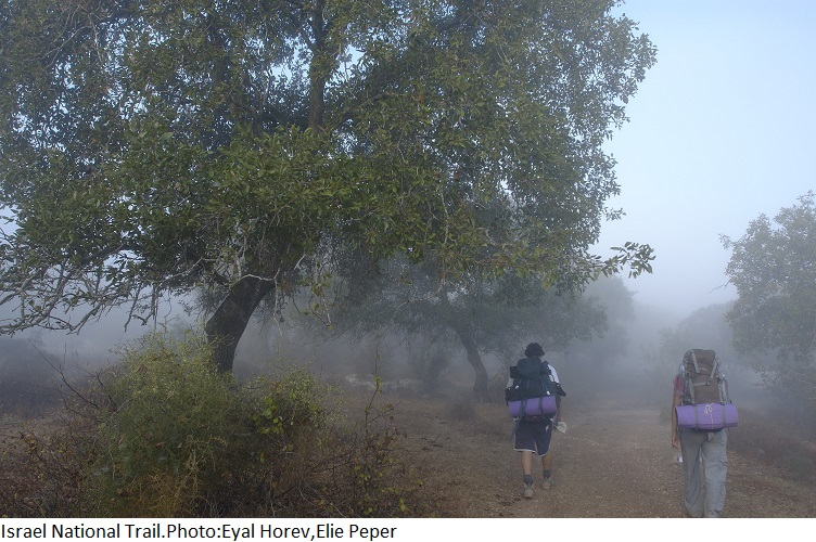 Israel National Trail. Photo: Eyal Horev, Elie Peper