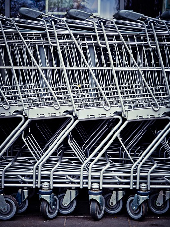 Shopping trolley. Photo credit Pixels site
