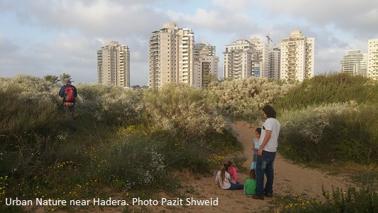 urban nature hadera photo pazit shweid