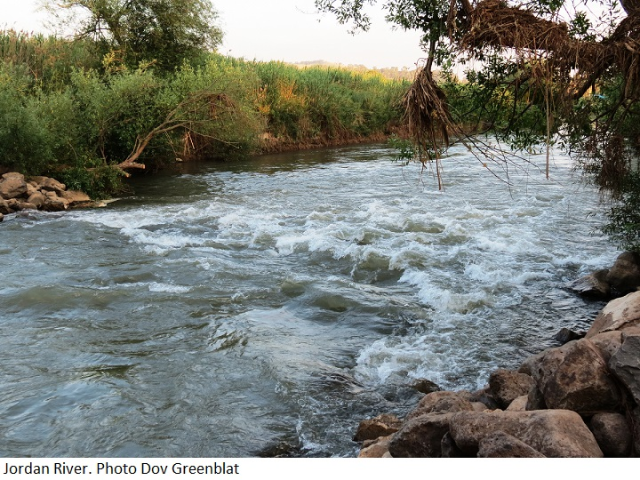 Jordan River. Photo by Dov Greenblat