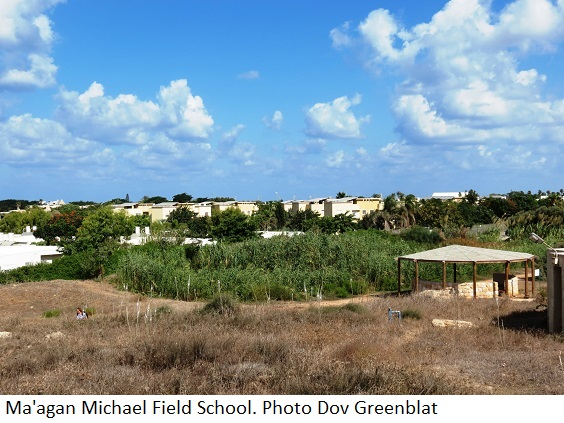 Ma'agan Michael Field School Overview. Photo Dov Greenblat