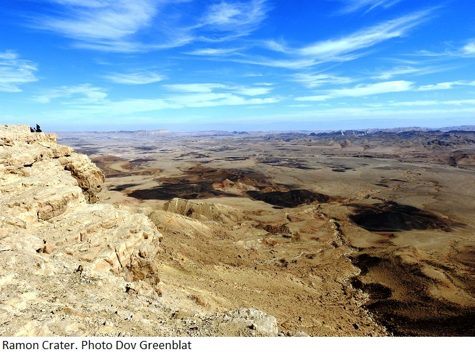 Ramon Crater. Photo by Dov Greenblat