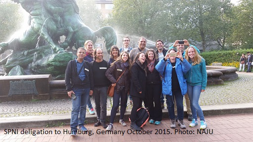 SPNI deligation to Germany october 2015 NAJU