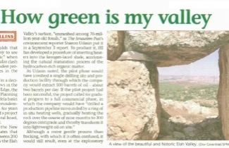 How green is my valley?