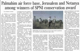 Article from Jerusalem Post